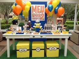 Minion Birthday Decorations Festa Minions Pesquisa Google Minos Pinterest Birthdays