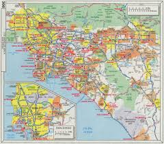 Map Of Santa Monica Los Angeles Maps California Us Maps Of La Los Angeles Check Out