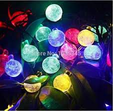 Solar Powered Christmas Tree Lights by Aliexpress Com Buy 20 Led Solar Powered Outdoor String Lights
