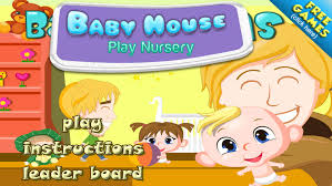 a play house baby nursery dress up mommy toy doll room full