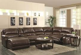 Comfortable Leather Couch Living Room Comfortable Leather Sectional Sofa With Recline