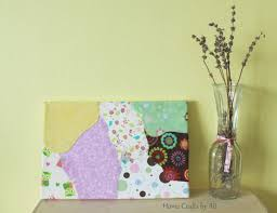 Make Your Own Home Decor Scrap Fabric Wall Art Home Crafts By Ali