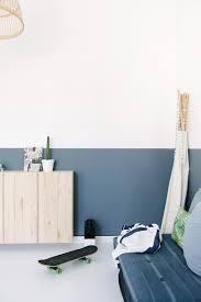 peindre les murs d une chambre peindre ses murs à mi hauteur frenchy fancy