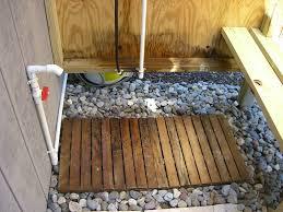 outside bathroom ideas surprising outdoor shower plans diy outsider cottage