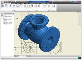 autodesk inventor valve 2d into 3d modeling revolve