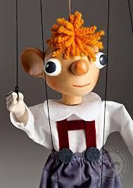 string puppet hurvinek small string puppet handmade marionette hurvinek is