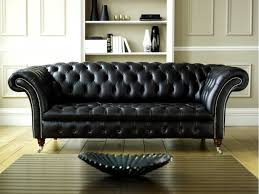 Furniture Awesome Black Leather Chesterfield Sofa Design Ideas - Chesterfield sofa design