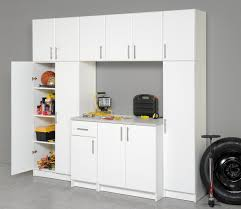 Garage Wall Cabinets Home Depot by Furniture Home Depot Garage Cabinets In White With Stainless