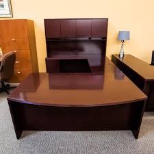 U Office Desk Used Left U Shaped Executive Office Desk Mahogany Deu9999 521
