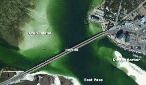 Destin Map How To Get To Crab Island My Crab Island Rentals Tours U0026 Things