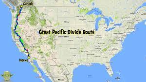 Durango Mexico Map Pacific Divide Route Gpskevin Adventure Rides