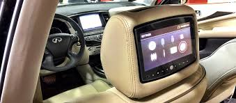 toyota highlander dvd headrest factory look headrest entertainment systems electronics