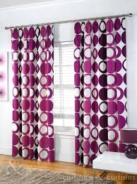 Purple And Cream Striped Curtains Purple And White Curtains U2013 Teawing Co