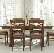 Trestle Dining Room Table Sets Applewood Rectangular Trestle Dining Table Rotmans Dining Room