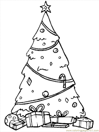 christmas trees 6 coloring free christmas coloring pages