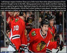 Andrew Shaw Meme - this is so true shawzy has got a true hockey heart and you can