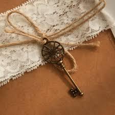 Vintage Wedding Invites Rustic Lace Folded Wedding Invitations With Vintage Keys Ewls057
