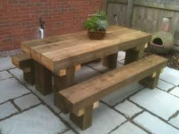 Plans For A Picnic Table With Separate Benches by Best 25 Garden Picnic Bench Ideas On Pinterest Picnic Table
