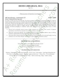library resume library media specialist cover letter