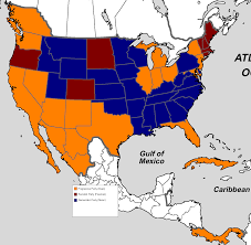 Presidential Election Map by Alternate Electoral Maps Alternate History Discussion