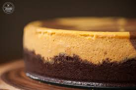 marbled chocolate pumpkin cheesecake self proclaimed foodie