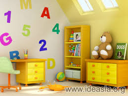 nice simple design of the beautiful room for baby boys that has