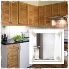 Louvered Kitchen Cabinets Kitchen Cabinet Louvered Design And Ideas