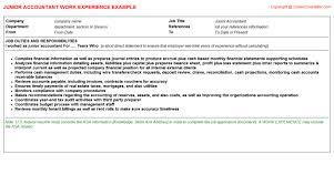junior accountant job title docs