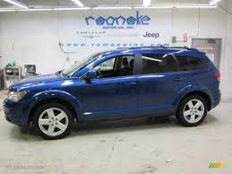 Dodge Journey 2010 - 2010 deep water blue pearl coat dodge journey sxt awd 44509055