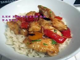 cuisine asiatique poulet recette de poulet aux poivrons recette asiatique par les recettes