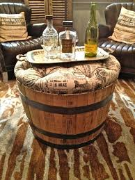 Wine Barrel Patio Table Barrel Furniture Oak Whisky Patio Table And Stool Set Solid