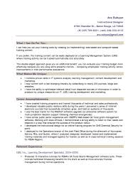 Experienced Graphic Designer Resume Instructional Design Resume Examples Resume For Your Job Application
