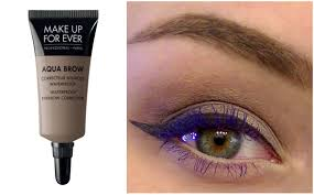 make up for ever aqua brow review and tutorial justenufeyes