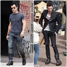 engineer boots vintage engineer boots justin theroux the better joe strummer