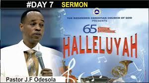 sermon of thanksgiving pastor j f odesola sermon rccg convention 2017 thanksgiving