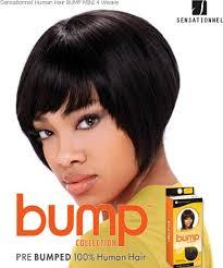 bump hair sensationnel bump mini 4 human hair weave extensions