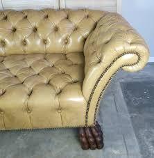Chesterfield Tufted Leather Sofa Custom Chesterfield Sofa Custom Chesterfield Tufted Leather Sofa