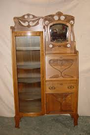 oak secretary antiques pinterest secretary antique