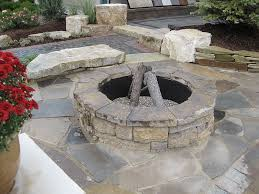 Stone Fire Pit Kit by Specialty Items Haley Stone