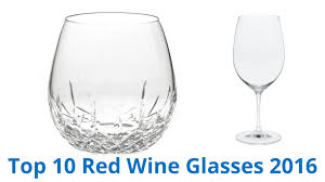 10 best red wine glasses 2016 youtube