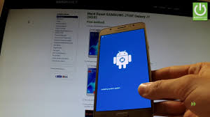 recovery mode android reset samsung galaxy j7 2016 restore android by recovery