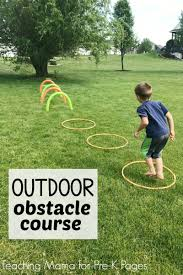 outdoor obstacle course ideas