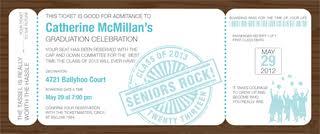 boarding pass invitations grad boarding pass invite bali graduation invitations by