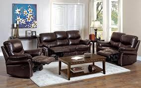 Brown Leather Recliner Sofa Classic Recliner Sofa