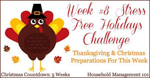 thanksgiving stress avoidance last minute tasks to do to a