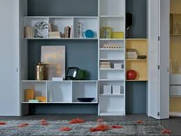Modular Bookcase  Wallmounted  Contemporary  Wooden HABITAT - Habitat home decor