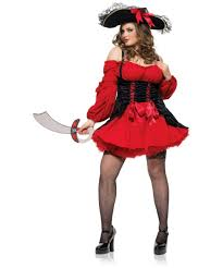 women s plus size halloween costumes ruby the pirate beauty plus size halloween costume