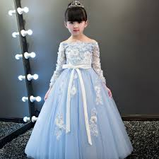 aliexpress com buy luxury long lace embroidery embroidery kids