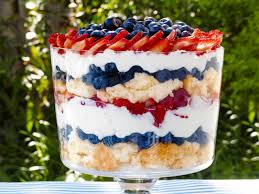 strawberry blueberry pound cake trifle recipe food fast recipes