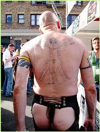 vitruvian tattoo evilchick flickr